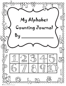 Alphabet Counting Journal