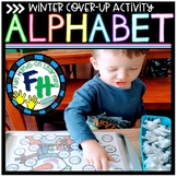 Alphabet Cover-Me-Up Activity (Winter Edition)