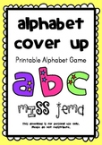 Alphabet Cover Up – FREE Alphabetical Order Printable Game