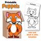 Alphabet Craft Activity - A - Z Animal Puppets - Paper Bag