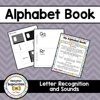 Alphabet Craft Book by Education and Inspiration #seventhi