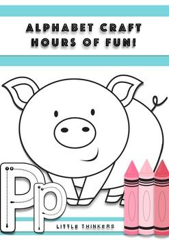 Alphabet Craft: Hours of fun!