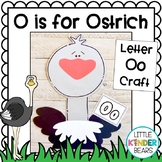 Alphabet Craft: Letter Oo is for Ostrich