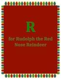 Alphabet Craft: Letter R Rudolph