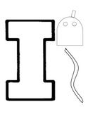 Alphabet Craft: Letter i Iguana