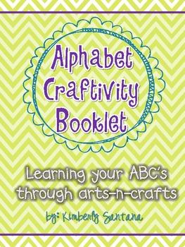 Alphabet Craftivity Booklet