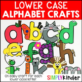 Alphabet Crafts - Lower Case