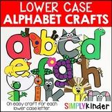 Alphabet Crafts - Lowercase