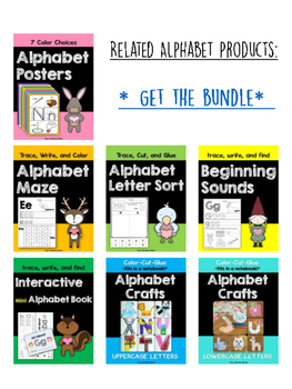 Alphabet Crafts- Lowercase Letters