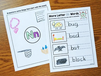 Alphabet Crafts & Printables Notebooks