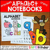 Alphabet Crafts & Printables Notebooks