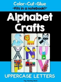 Alphabet Crafts- Uppercase Letters