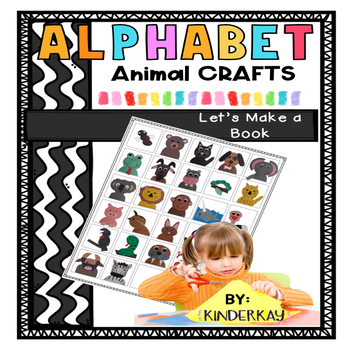 Alphabet Crafts from Simple Shapes - For Little Kids