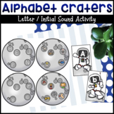 Alphabet Craters Letter / Sound Matching Activity