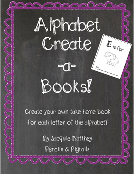Alphabet Create a Books