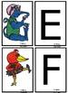 Alphabet Creatures Matching Game