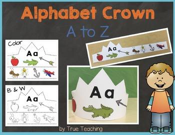 Alphabet Crown