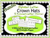 Alphabet Crown Bundle ~ Merging Zoo Phonics & HWT ~ 26 let