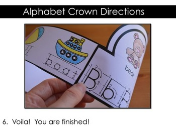 Alphabet Activities, Alphabet Crowns, Alphabet Hats