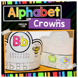 Alphabet Activities, Alphabet Crowns, Alphabet Hats