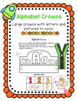 Alphabet Crowns