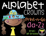 Alphabet Crowns {Aa-Zz}