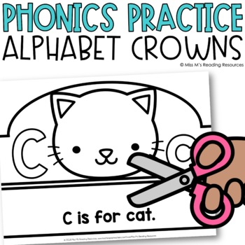 Alphabet Crowns {Animal Alphabet}