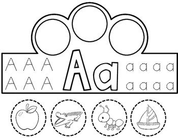 Alphabet Crowns:  Beginning Sounds Crowns (Interactive)