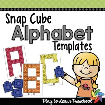 Alphabet Cube Letters