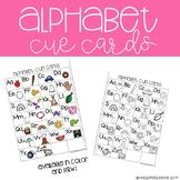 Alphabet Cue Cards