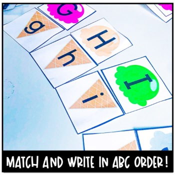 FREEBIE Alphabet Cupcake Matching Game