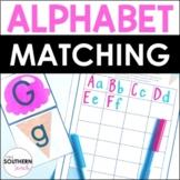 FREEBIE Alphabet Cupcake Matching Game