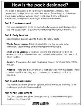 Alphabet Curriculum