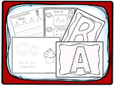 Alphabet Curriculum Download. Preschool-Kindergarten. Worksheets and Activities