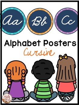 "Cursive Alphabet ""Cursive Word Wall"""