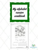 Alphabet Cursive Workbook (Advanced level)