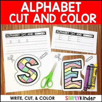 Alphabet Cut & Color