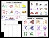 Alphabet Cut & Paste Puzzles