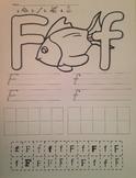 Alphabet Cut & Paste worksheets a-z + digraph sh