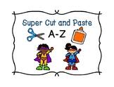 Alphabet Cut, Sort, and Paste