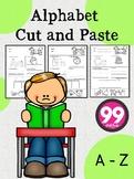 Alphabet Cut and Paste Part 3