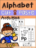 Alphabet Cut and Paste Activities (Upper and Lower case) D