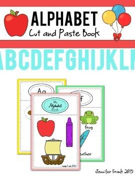 Alphabet Cut and Paste Book