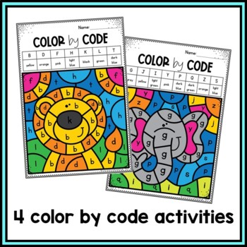 Alphabet Upper and Lowercase Letter Matching Activity