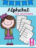 Alphabet Cut and Paste Set 1
