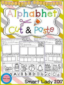 Alphabet Cut and Paste Set 2