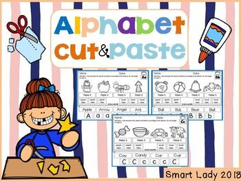 Alphabet Cut and Paste Set 3
