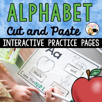 Alphabet Cut and Paste