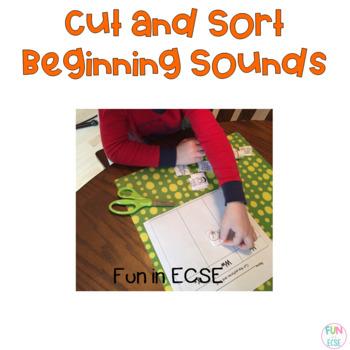 Cut and Sort Beginning Sounds