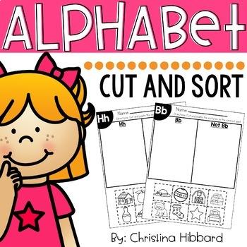 Alphabet Cut and Sort